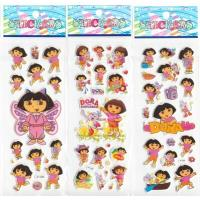 Quality Cartoon Foam Custom Puffy Stickers PVC / EVA With Animated Character Shape for sale