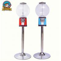 China Gourmet Candy Shop Gumball Vending Machine With Stand Zinc Alloy Coin on sale