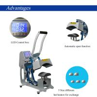 Buy CE RoHS 110 V Combo Heat Press Machine 50 - 60 HZ 500 Watt For Modern DIY Cap / at wholesale prices
