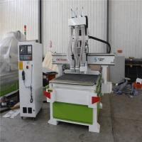 Quality XY Axis 3D Woodworking CNC Machine , Wood Design Cutting Machine 18kw for sale