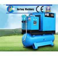 Quality Electric Screw Industrial Air Compressor Air / Water Cooling Method High Durability for sale