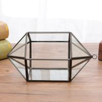 Hanging Geometric Glass Terrarium Decorative Glass Geometric Terrarium Wholesale for sale