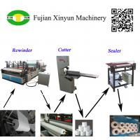 Quality Semi automatic small toilet paper making machine production line for sale