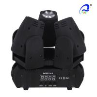 China Three Heads CREE Mini Beam Moving Head Light 10W 4in1 IP33 Infinite Rotation on sale