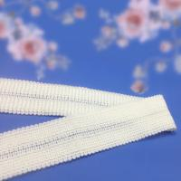 Buy 20mm white color boud edage belt at wholesale prices