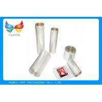 Quality Soft 40mic PVC Heat Shrink Film Roll 200m - 1000mm Width For Label Printing for sale