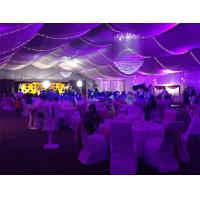 Quality Aluminium frame structure tent, outdoor tent for wedding party with decoration for sale
