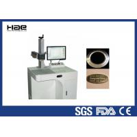 Quality Acrylic Fabric Desktop Laser Engraving Machine  20W Fiber Laser Marking System for sale