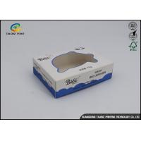 Buy cheap White Blue Printing Cheap Price Custom Design Eco Friendly Soap Packaging Box from wholesalers