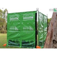 Quality Temporary Noise Barriers 4 layer + design insulated and reduction noise 40dB for sale