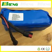 Quality 36V 20Ah Electric Bicycle Battery Pack / Lithium Rechargeable Battery Pack Flat Top for sale