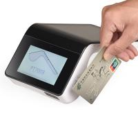 China Wireless Android POS Terminal Tablet QR Code Scanning Support Magnetic Stripe Card on sale