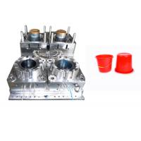 Quality PP PA ABS Plastic Bucket Mould Cold Runner Multi Cavity High Hardness Long Life Time for sale