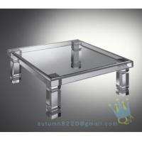 Quality acrylic marble table for sale