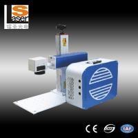 Quality Portable Laser Marker , Mini Metal Marking Laser Machines With Rotation for sale