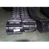 China Black Color Agricultural Rubber Tracks / Pads For Kubota Machinery Parts on sale