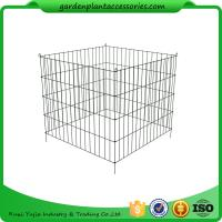 Quality Single Bin Wire Composter Heavy - Gauge , Powder - Coated Steel Wire for sale