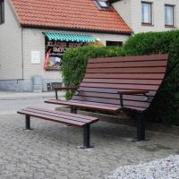 Quality Composite outdoor bench outdoor concrete bench outdoor public bench seat for sale