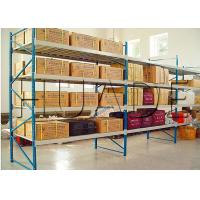 China Conventional 55 Profile Longspan Shelving / Medium Duty Shelving 200-800 Kg Load Capacity on sale