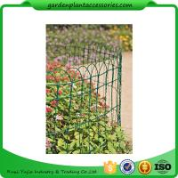 """Quality Economical Garden Plant Accessories - Dark Green  Mesh Steel Wire Fencing PVC-coated 1/16"""" wire  All heights are 32'-9"""" for sale"""