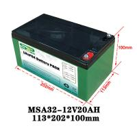 Quality 20Ah 12 Volt Lithium Battery Pack / Medical Equipment Batteries Large Capacity for sale
