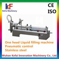 China Supplying good quality liquid filling machine semi automatic factory price with CE on sale
