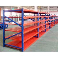 China Durable Steel Medium Duty Shelving System Upright Frame For Warehouse Storage on sale
