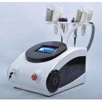 Buy 4 Handles Cryolipolysis Machine Ultrasonic Cavitation rf  Weight Loss Device at wholesale prices
