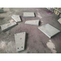 Quality Cr26 Liner Plates White Iron Castings Wear-resistance HRC60 for Grinding Mill for sale