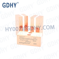 Quality GDHY 0.5UF Resonant Circuits Conduction Cooled Capacitor for sale