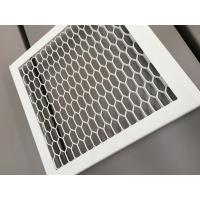 Buy RAL 9016 White Color PVDF Coating Punching Wave Aluminum Panel Tolerance +/- 0 at wholesale prices