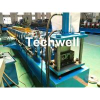 Quality Durable Seamless Gutter Machine With Welded Wall Plate Structure Forming Structure for sale