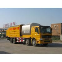 Quality HOWO asphalt synchronization crushed stone seal coat vehicle for sale
