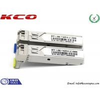 Buy Network 1.25G  Rj45 SFP Module Lc Connector 1310nm 10km Cisco Port at wholesale prices