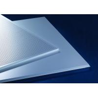 Quality Acoustic Lay-In  Aluminum Metal Ceiling 600x600mm Prevents The Heat Loss Recycling for sale