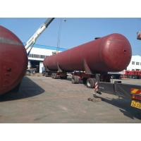 Quality Above Ground LPG Gas Storage Tank For Propane Gas Depot Set Up 200 CBM 100 Ton for sale