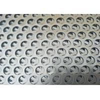 China OEM Cold Rolled Round Sheet Metal , Popular Round Steel Mesh  Large Open Area on sale