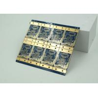 Buy 6 Layer High Frequency, Material HDI PCB Blue Solder Mask  BGA at wholesale prices