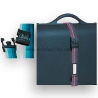Buy cheap Silk screem printing luggage belt with lock from wholesalers
