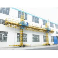 China 150m Height Construction Twin Mast Climbing Platform 23.8m Length 2000kg Loaded on sale