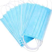 Quality Nonwoven Anti Dust 3ply Civil Disposable Nose Mask for sale