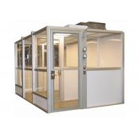 Quality SUS304 Negative Pressure Laminar Flow Dispensing Booth / Raw Material Sampling Booth for sale