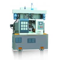 Quality Rotary Indexed Table Lathe Turning Machine , Drilling Tapping Machine Vertical Two Spindle for sale