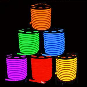 China Flex LED Neon light 80leds/M Warm white/cool white/R/G/B/RGB AC85-265V LED Neon rope light on sale