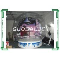 Quality Durable Clear Inflatable Show Ball Digital Painting Inflatable Snow Globe for sale
