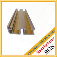 Quality copper alloy channel extrusion section of window and door for sale