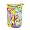 Buy cheap Spongebob Theme Exquisite Printing Toy Bricks Zipper Storage Bags for Children Building Blocks from wholesalers