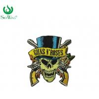 Quality Colorful Personalised Embroidered Badges Sew On Patches For Motorcycle Vests for sale
