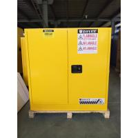 Buy cheap 30 GAL Fireproof Hazardous Storage Cabinets For Flammable And Combustible Liquids from wholesalers