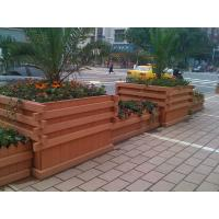 Quality wpc outdoor large plastic planters plastic square planter square concrete planters for sale